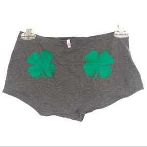Pink Victoria's Secret Cloverleaf Boyshort Panties